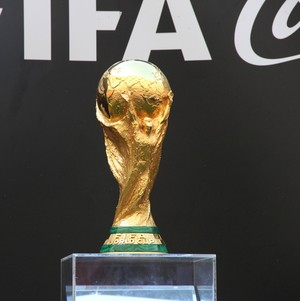 Taça da Copa do Mundo (Foto: Isabella Pina)