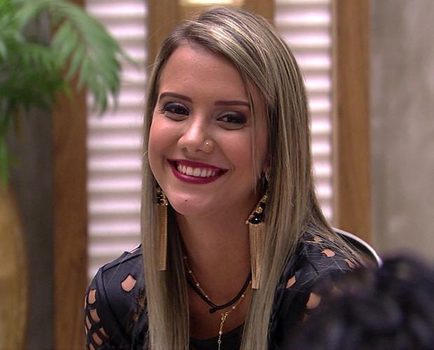Andressa (Foto: Big Brother Brasil)