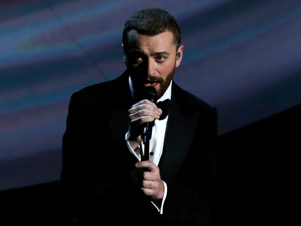 Sam Smith canta na cerimônia do Oscar 2016 (Foto: REUTERS/Mario Anzuoni)
