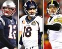 Trio de ferro: supremacia de QBs quebra equilíbrio característico da NFL