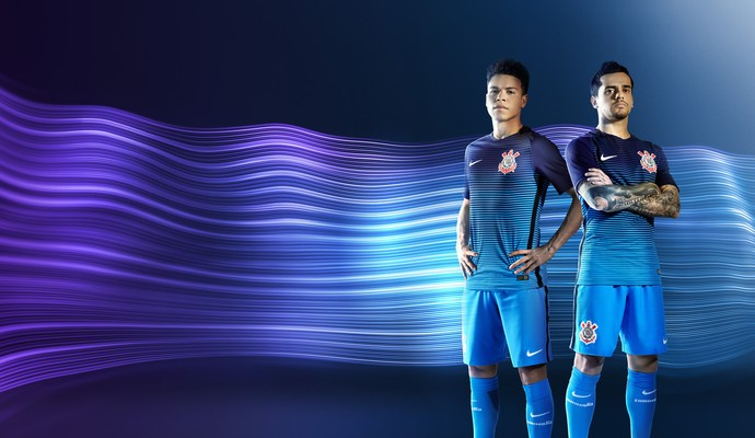 Nova camisa do Corinthians (Foto  Divulgação) c9699ee406a33