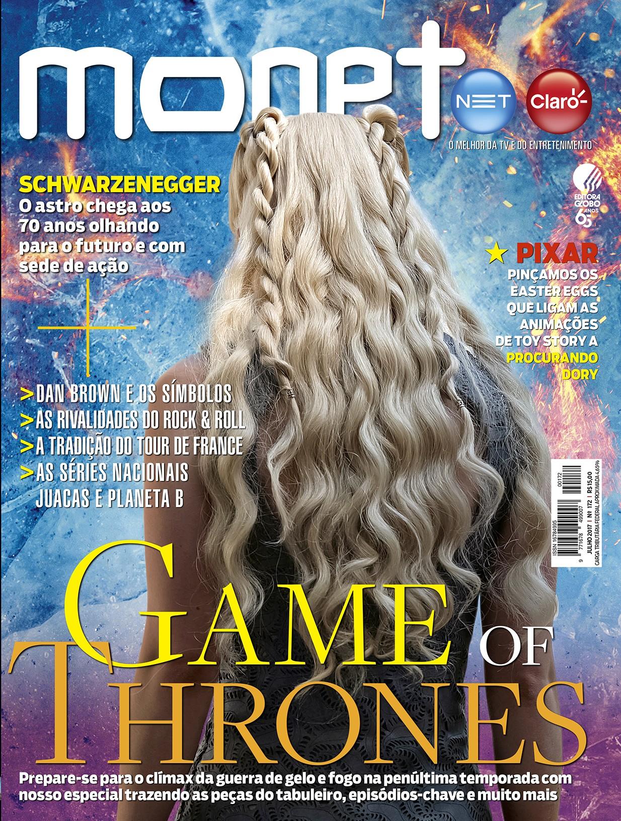 Revista Monet - Edição 172 - Julho/2017 (Foto: Revista Monet)