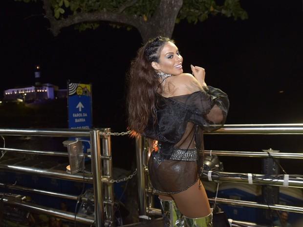 Alinne Rosa na Barra (Foto: Elias Dantas/Ag. Haack)