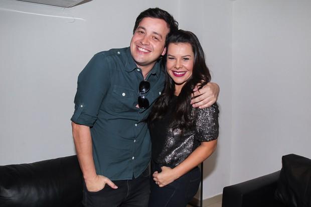 Rafael Cortez e Fernanda Souza (Foto: Manuela Scarpa/Brazil News)