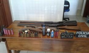 caça ileagl em obidos  (Foto: Polícia Civil de Óbidos /Divulgação)