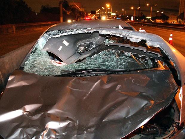 Acidente deixou um morto e dois feridos (Foto: Edison Temoteo/Futura Press/Estadão Conteúdo)