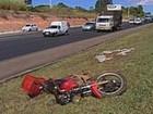 Acidente fatal faz duas vítimas  (Filipe Matoso/G1)