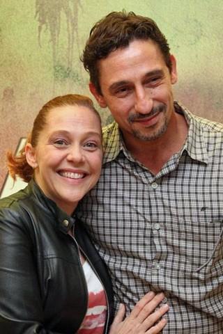 Isabela Garcia e Tuca Andrada são um casal (Foto: Nathalia Fernandes/Globo)