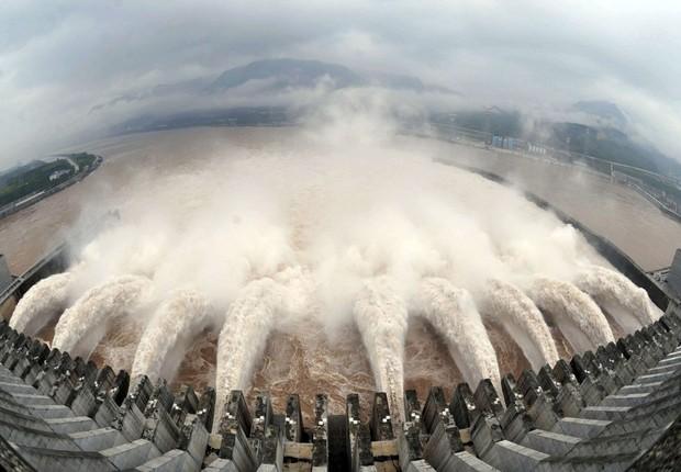 Projeto da China Three Gorges Corporation, estatal chinesa que vem adquirindo hidrelétricas no Brasil (Foto: Divulgação)