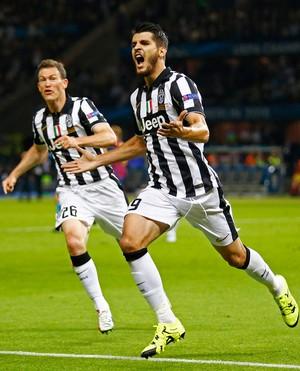 Alvaro Morata, gol Juventus (Foto: Reuters)