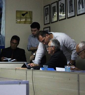 Julgamento do Parnahyba; TJD-PI  (Foto: Josiel  Martins)