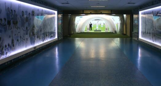 luz no túnel (Diego Guichard/GloboEsporte.com)