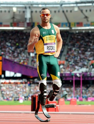 Oscar Pistorius atletismo olimp&#237;adas 2012 (Foto: Reuters)