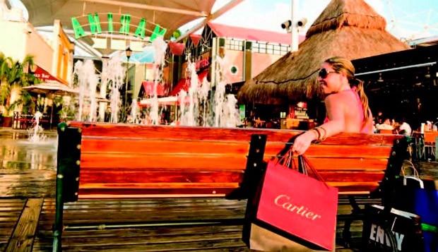 Compras em Cancn (Foto: Divulgao)