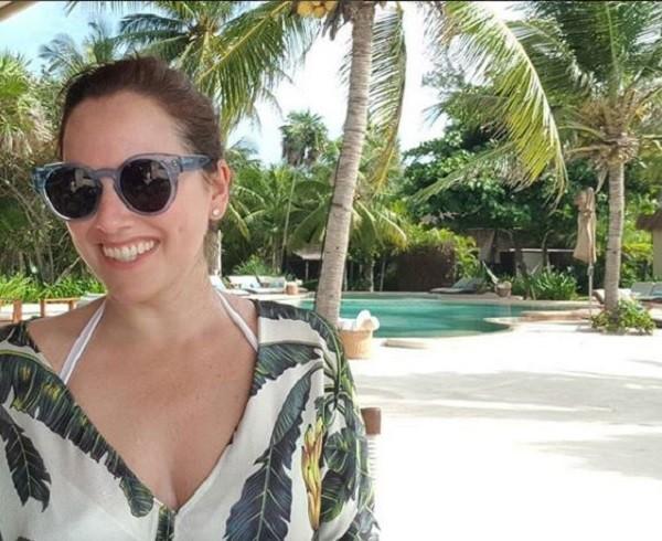 Mariana Belém curte resort no México  (Foto: divulgação)