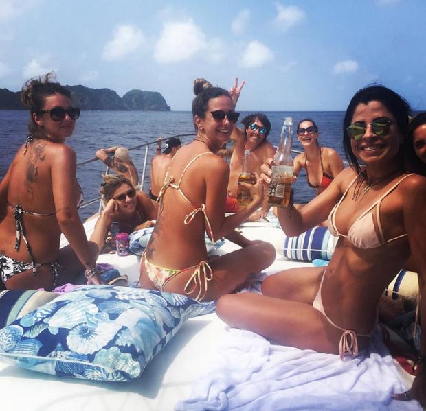 Aninha Lima e Grazi Massafera em passeio com amigas (Foto: Reprodução/Instagram)
