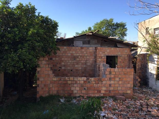Bunker utilizado pelos traficantes na Bom Jesus (Foto: Polícia Civil/Divulgação)