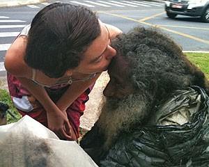 Shalla conheceu Raimundo em maio de 2011 (Foto: Arquivo pessoal)
