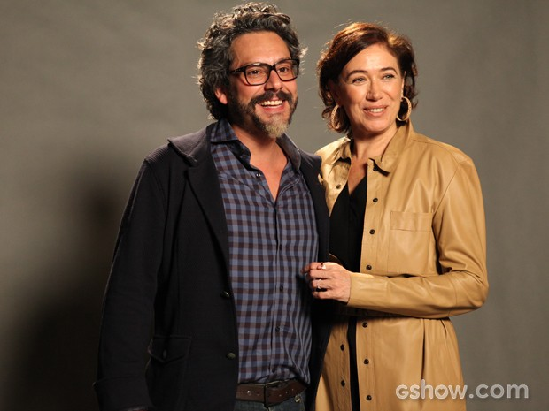 Alexandre Nero e Lilia Cabral serão novamente um par romântico  (Foto: Divulgação/TV Globo)
