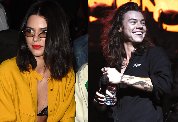 Kendall Jenner e Harry Styles: aí tem? (Foto: Kevin Winter e  Jason Merritt / Getty Images )