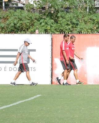 Internacional Inter Rafael Moura treino (Foto: Eduardo Deconto/GloboEsporte.com)