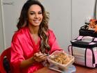 No Paparazzo, Milena Nogueira leva marmita para não sair da dieta