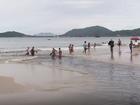 Nova coleta aponta menos pontos impróprios em Canasvieiras, SC
