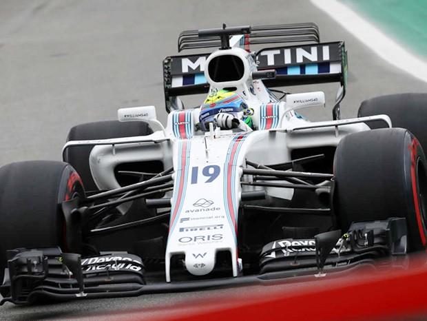 Felipe Massa ocupa a nona posição no grid do GP Brasil (Foto: Beto Issa/GP Brasil de F1)
