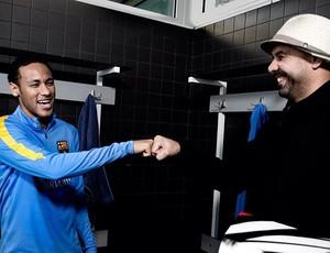 Bruno Big com Neymar