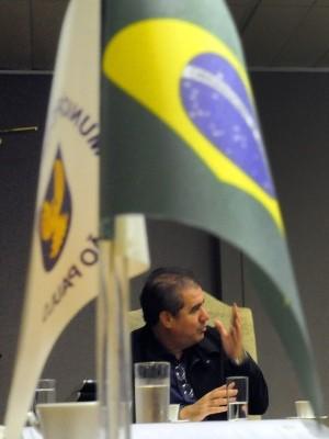 O prefeito de Campinas, Jonas Donizette, na Prefeitura (Foto: Carlos Bassan / Prefeitura de Campinas)