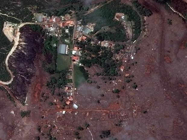 Corpo é localizado perto de distrito atingido por rompimento de barragem