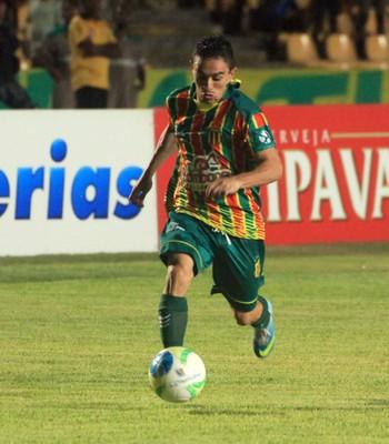 Pimentinha fez dois gols contra Bragantino, no Castelão, pela Série B do Brasileirão (Foto: De Jesus/O Estado)