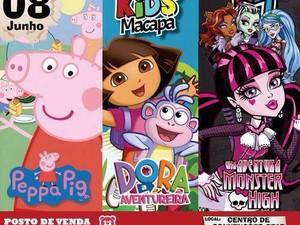 Trilogia Kids vai exibir três filmes, Peppa Pig, Dora, a Aventureira e  Monsther