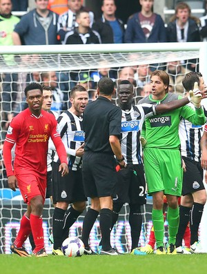 Newcastle e Liverpool (Foto: Getty Images)