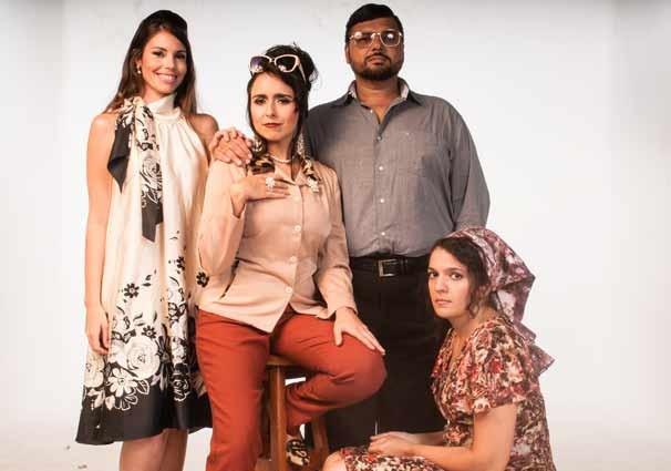 """O elenco da peça """"Novelas, o Musical"""" (Foto: Divulgação)"""