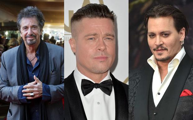 Al Pacino, Brad Pitt e Johnny Depp so os crushes de Javier Bardem (Foto: Divulgao)