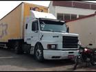 Polícia prende suspeito que tentava roubar caminhão de carga no Rio