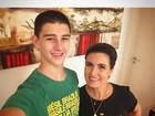 Torcida que vem de berço: filhos de famosos se vestem de verde e amarelo pelo Brasil