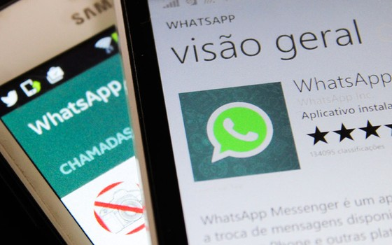 Justiça bloqueia Whatsapp no Brasil por 48 horas (Foto: Aloisio Mauricio / Fotoarena / Ag. O Globo)