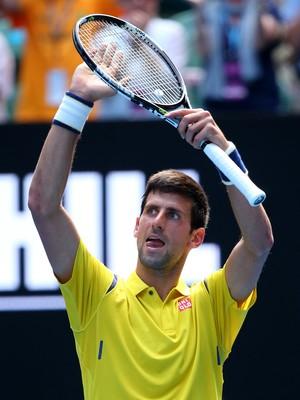 Novak Djokovic vence na estreia do Aberto da Austrália (Foto: Quinn Rooney/Getty Images)