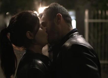 Antônia e Domênico se beijam!