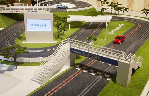 Toyota Prius de brinquedo pode ser movido pela força do pensamento no Brasil (Foto: Divulgação)