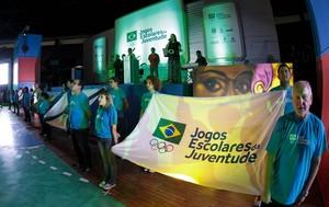 Abertura dos Jogos Escolares da Juventude, em Fortaleza (Foto: Divulgação/(COB))