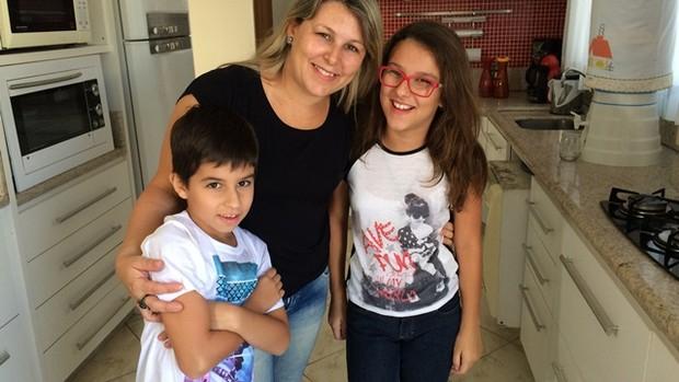 Desafio crianças (Foto: RBS TV/Divulgação)