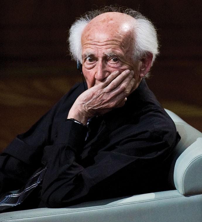 Sociedade líquida: Zygmunt Bauman veio ao Brasil para uma conferência sobre educação (Foto: SFM Press Reporter/ Alamy/ Editora Globo)