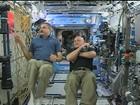 Astronautas ficam meses no espaço como teste para missão em Marte
