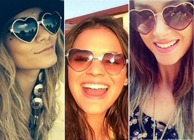 Vanessa Hudgens, Bruna Marquezine e Fernanda Machado (Foto: Instagram / Reprodução )