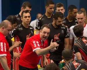 Campinas vôlei Superliga (Foto: Divulgação / Brasil Kirin)