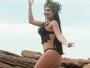 Shayene Cesário, musa da Portela, posa sensualíssima e fala sobre desfile