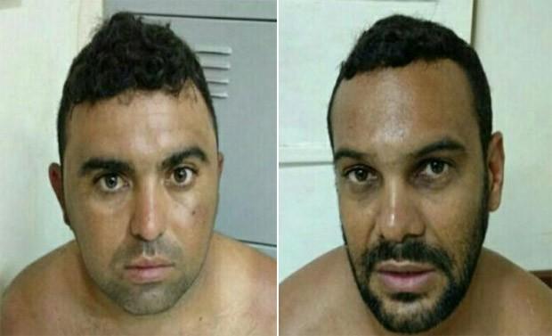 Cláudio Moura da Fonseca, de 30 anos, e Renato César Dias, de 33 anos, confessaram participação no crime (Foto: Divulgação/Polícia Civil)